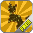 Tans Block Free - Simple Classic Tangram Puzzle Game mobile app icon